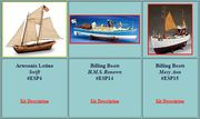 Tall Ship Model Kits-Naturecoast.com